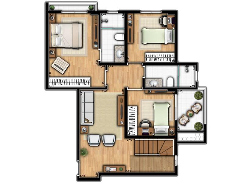 Apartamento Duplex 2A