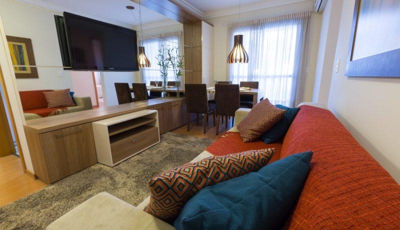 Living Apto Residencial Villa Frascatti - Foto 16